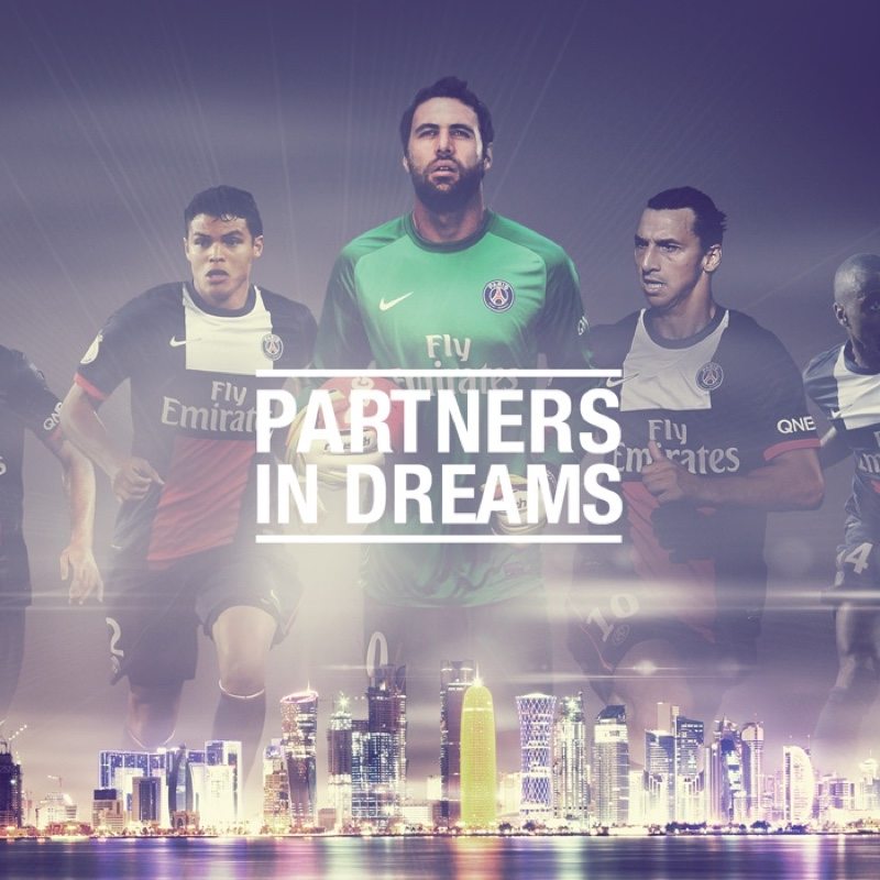 Qatar PSG Partners in Dreams